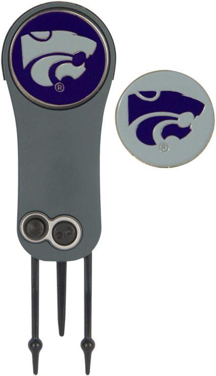 Team Effort Kansas State Wildcats Switchblade Divot Tool and Ball Marker Set