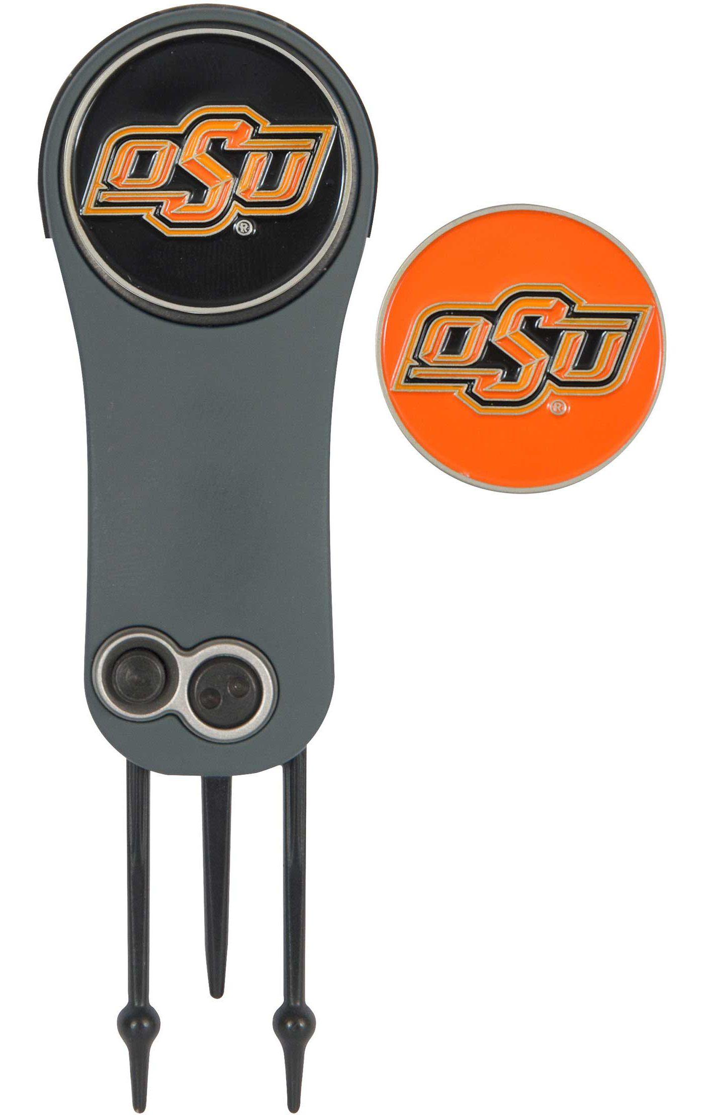 Team Effort Oklahoma State Cowboys Switchblade Divot Tool and Ball Marker Set