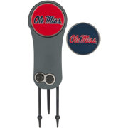 Team Effort Ole Miss Rebels Switchblade Divot Tool and Ball Marker Set