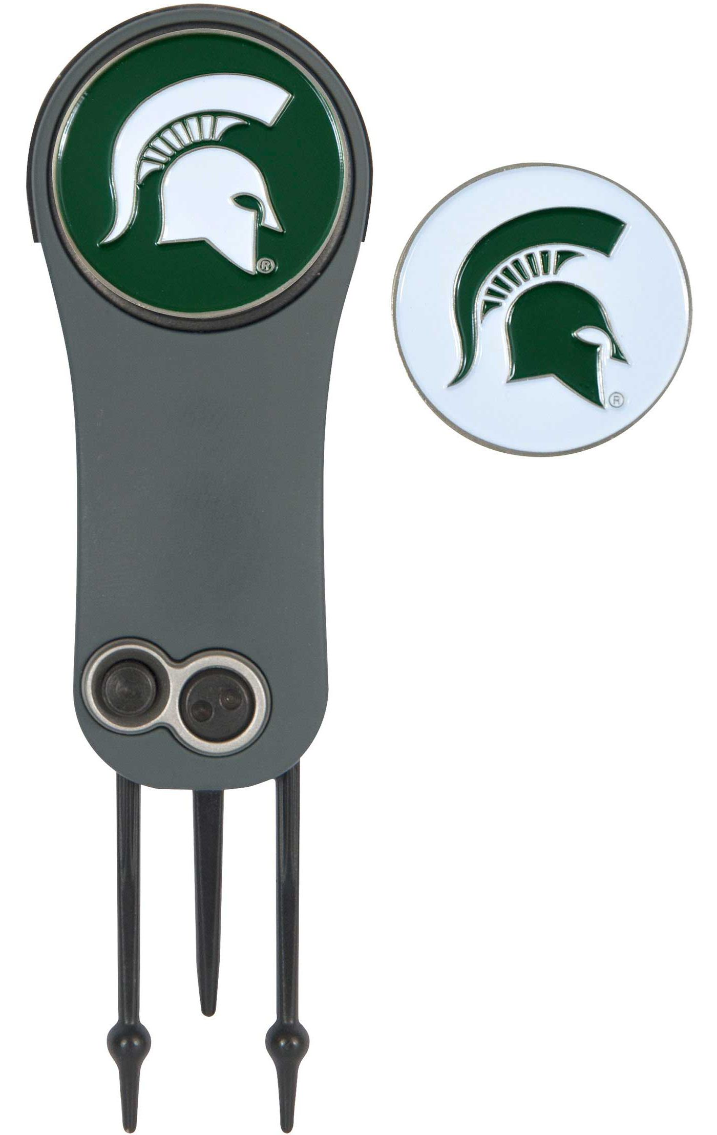 Team Effort Michigan State Spartans Switchblade Divot Tool and Ball Marker Set