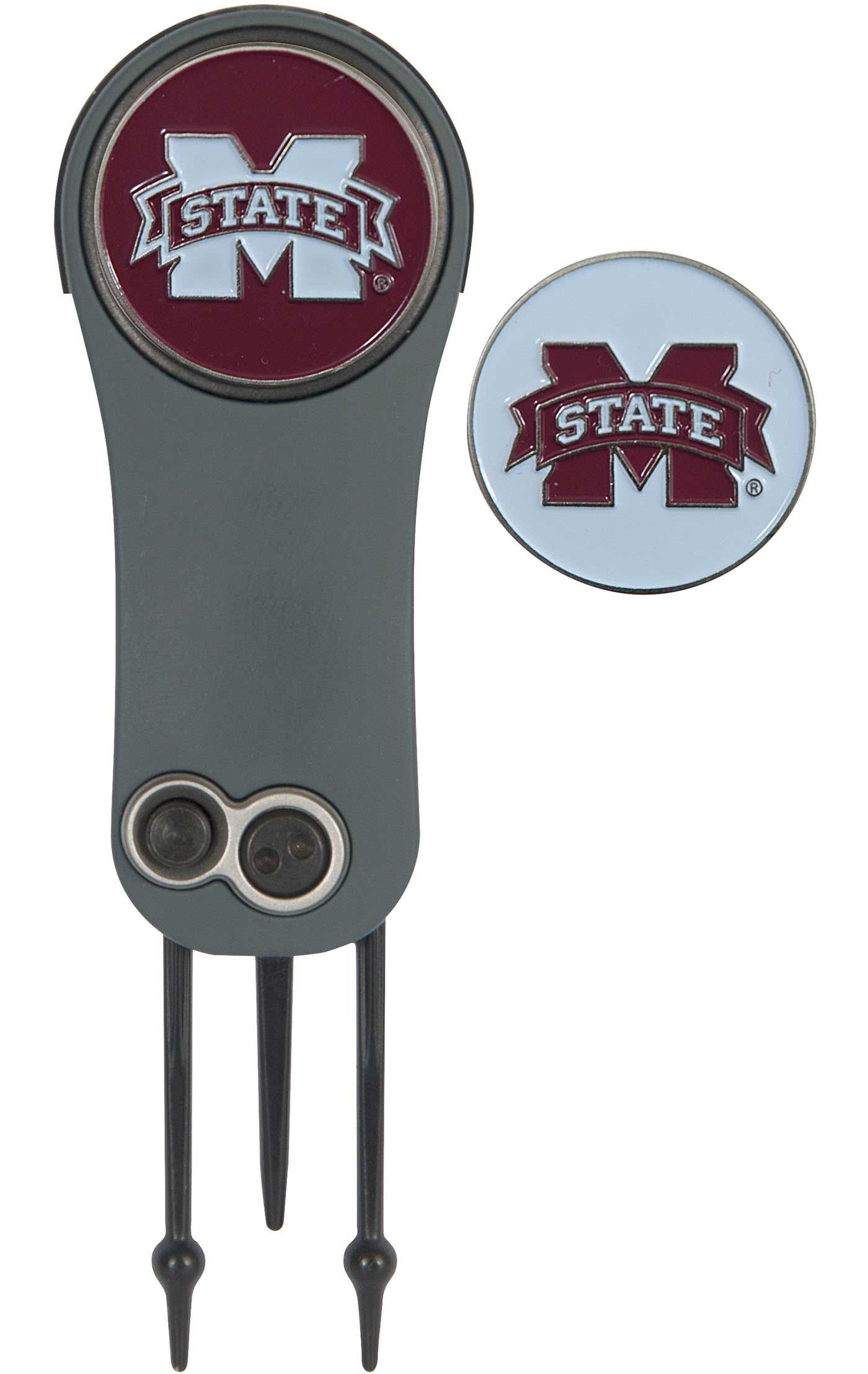 Team Effort Mississippi State Bulldogs Switchblade Divot Tool and Ball Marker Set