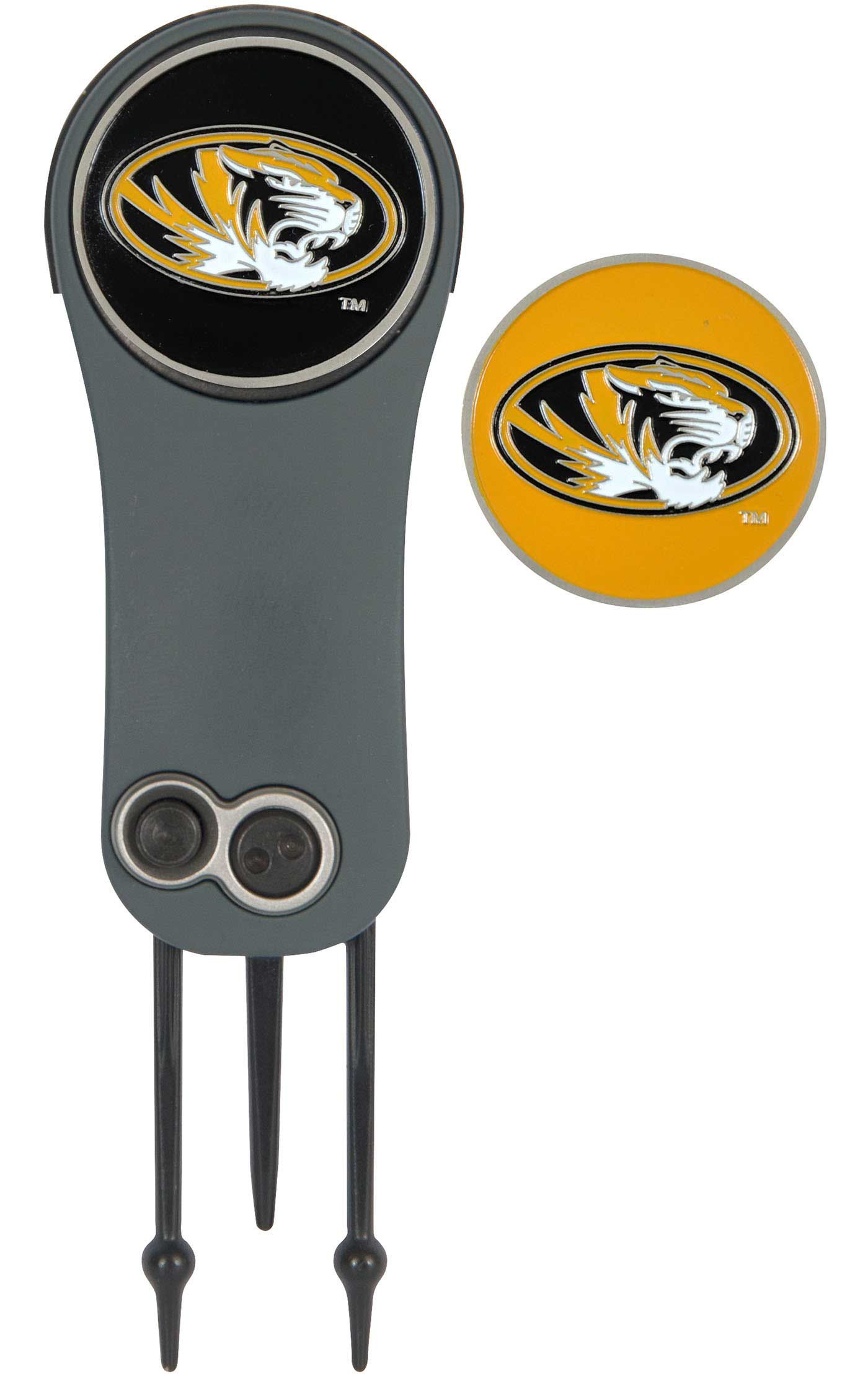 Team Effort Missouri Tigers Switchblade Divot Tool and Ball Marker Set