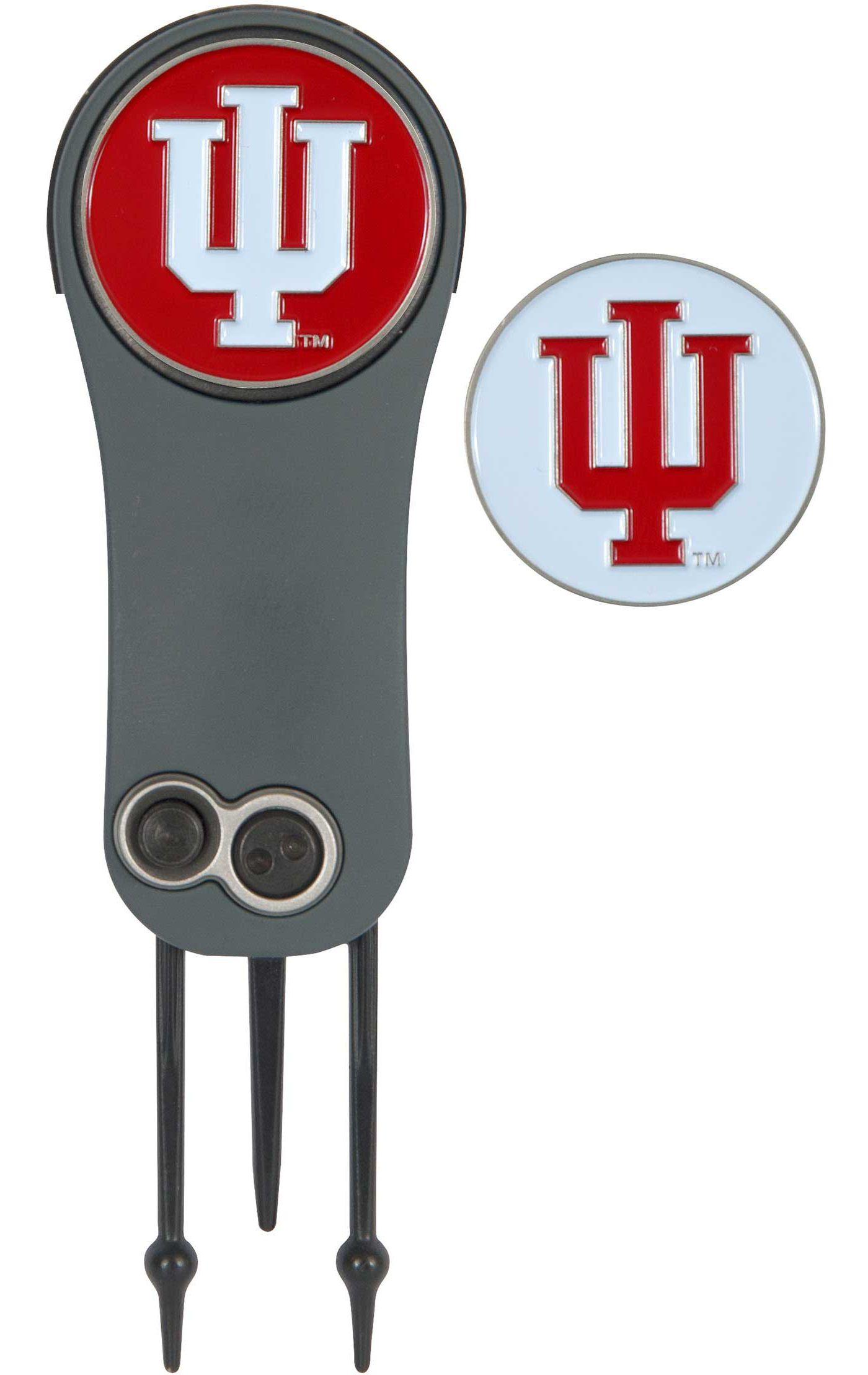 Team Effort Indiana Hoosiers Switchblade Divot Tool and Ball Marker Set