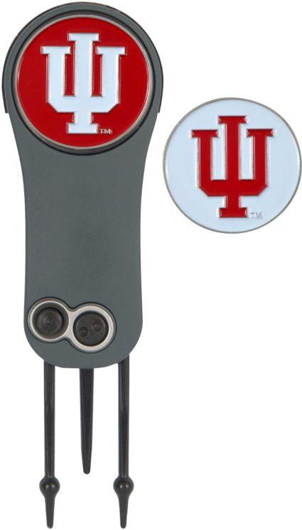 Team Effort Indiana Hoosiers Switchblade Divot Tool and Ball Marker Set