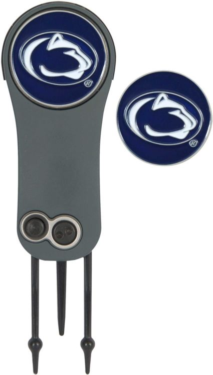 Team Effort Penn State Nittany Lions Switchblade Divot Tool and Ball Marker Set