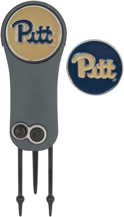 Team Effort Pitt Panthers Switchblade Divot Tool and Ball Marker Set