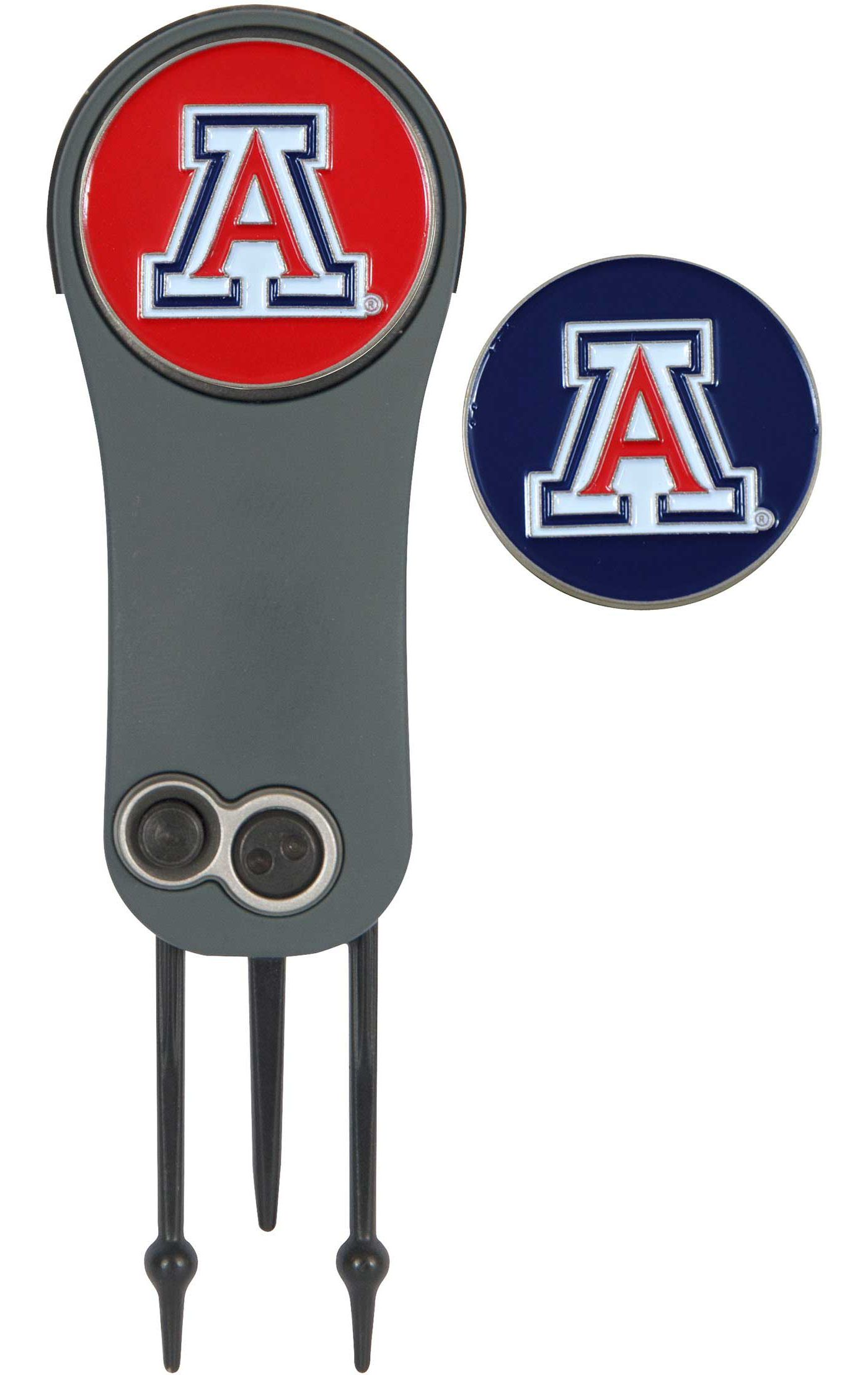 Team Effort Arizona Wildcats Switchblade Divot Tool and Ball Marker Set
