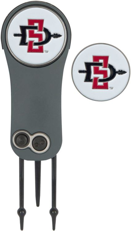 Team Effort San Diego State Aztecs Switchblade Divot Tool and Ball Marker Set