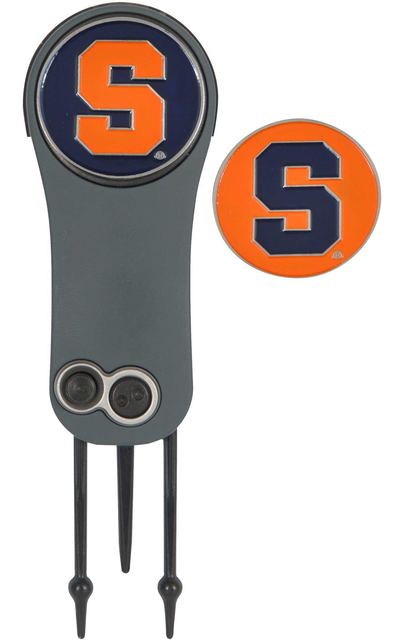 Team Effort Syracuse Orange Switchblade Divot Tool and Ball Marker Set