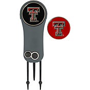 Team Effort Texas Tech Red Raiders Switchblade Divot Tool and Ball Marker Set