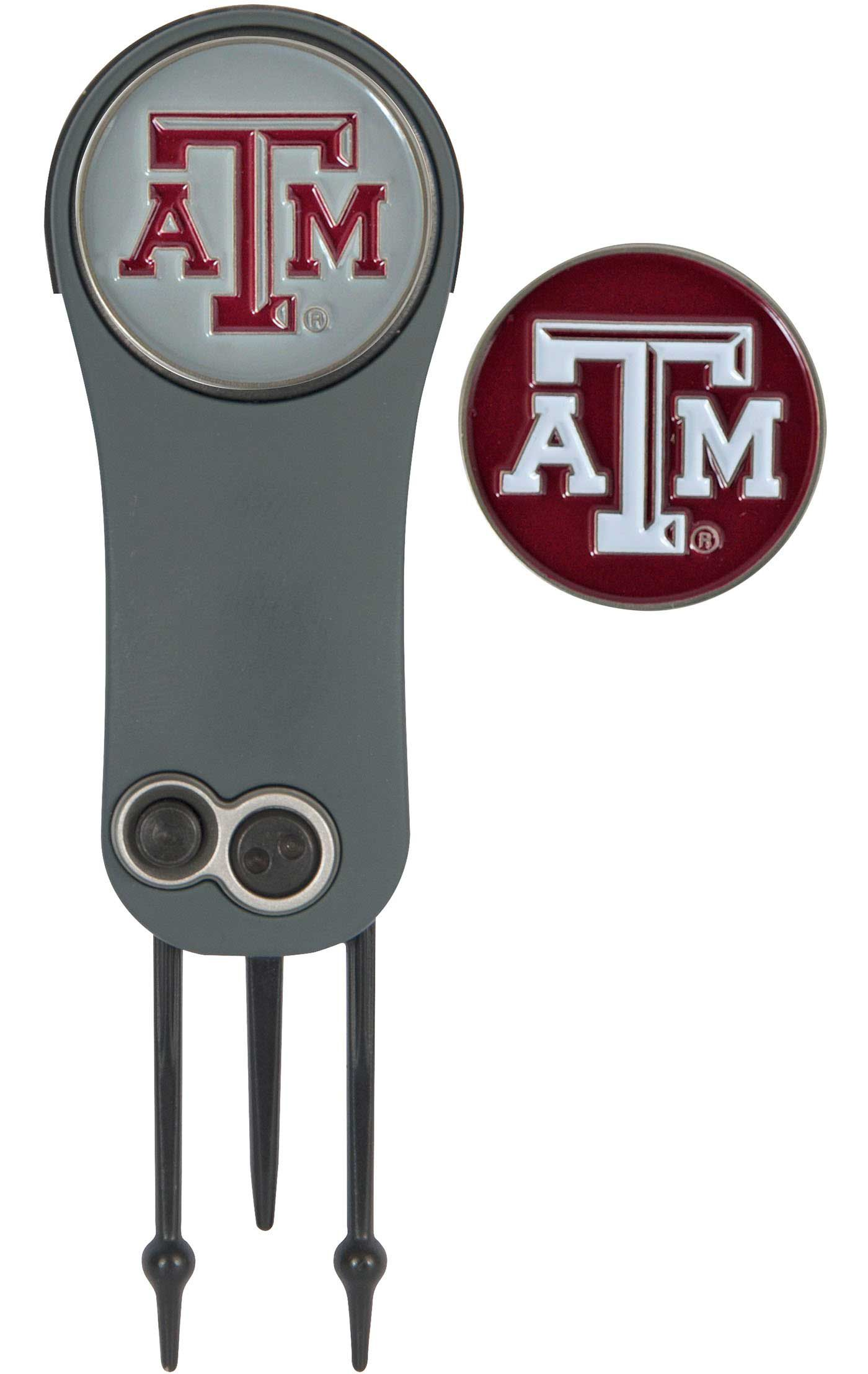 Team Effort Texas A&M Aggies Switchblade Divot Tool and Ball Marker Set