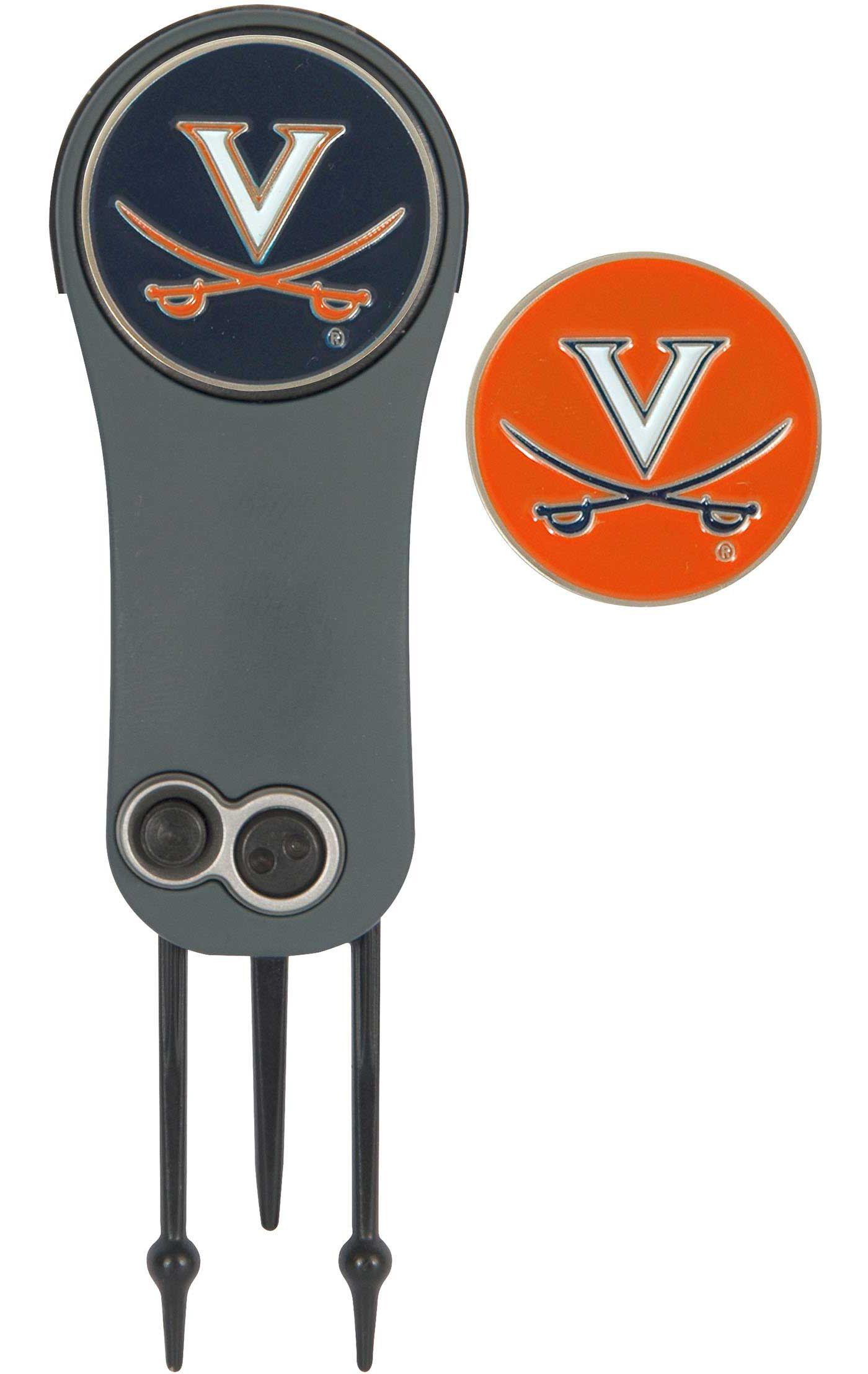 Team Effort Virginia Cavaliers Switchblade Divot Tool and Ball Marker Set