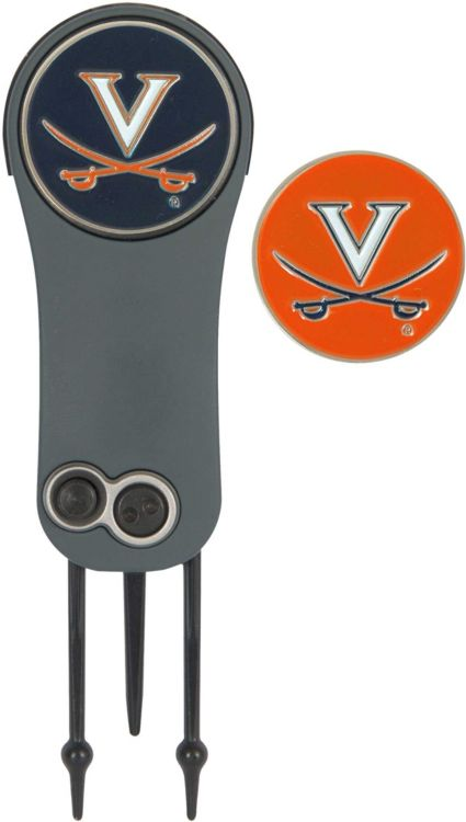 Team Effort Virginia Cavaliers Switchblade Divot Tool and Ball Marker Set