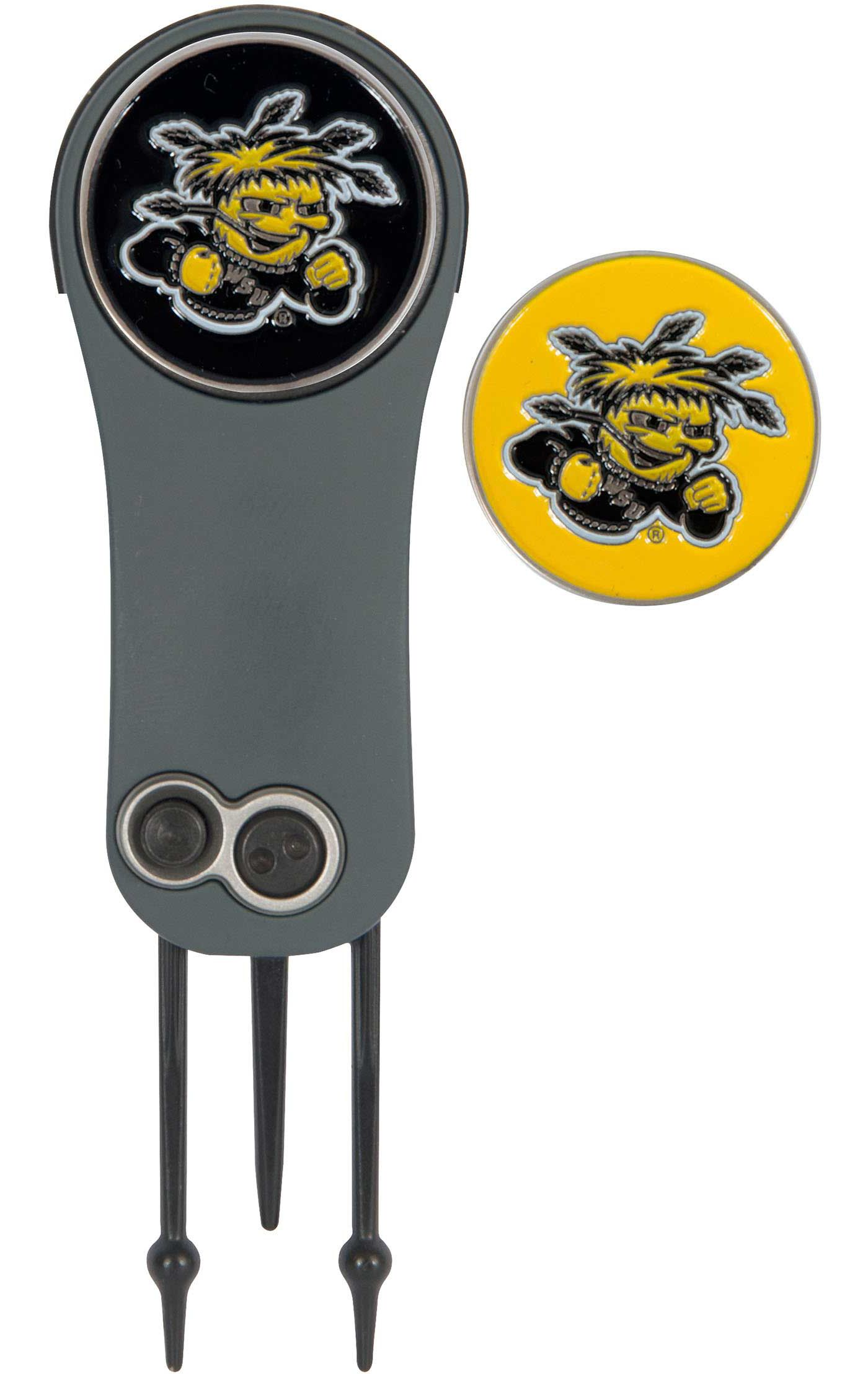 Team Effort Wichita State Shockers Switchblade Divot Tool and Ball Marker Set