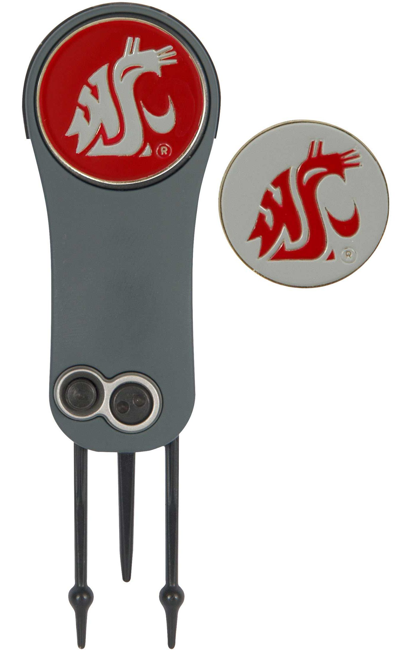Team Effort Washington State Cougars Switchblade Divot Tool and Ball Marker Set