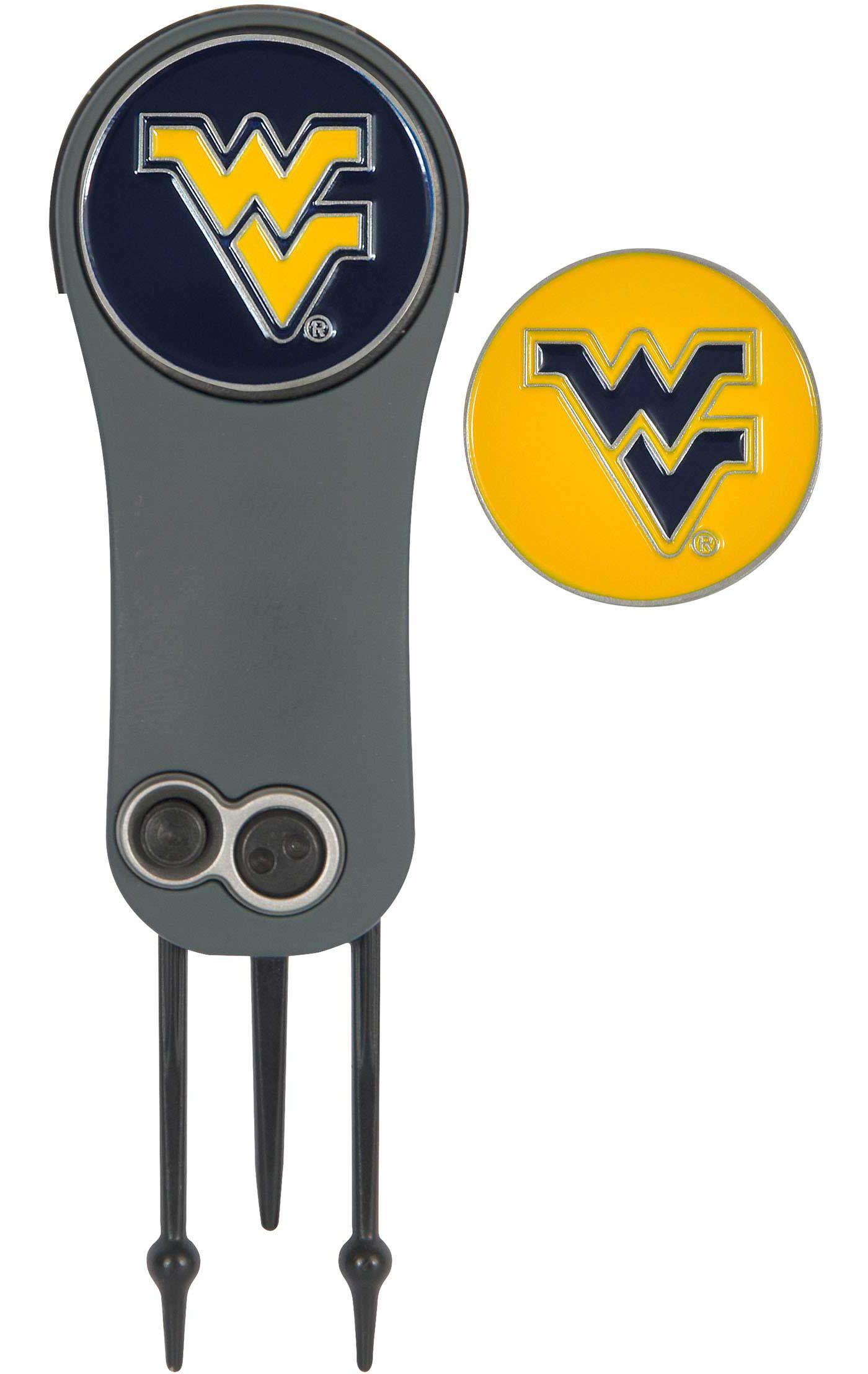 Team Effort West Virginia Mountaineers Switchblade Divot Tool and Ball Marker Set