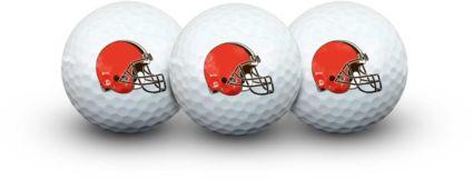 Team Effort Cleveland Browns Golf Balls - 3 Pack
