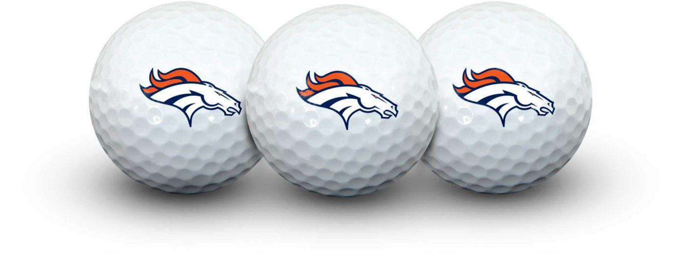 Team Effort Denver Broncos Golf Balls - 3 Pack
