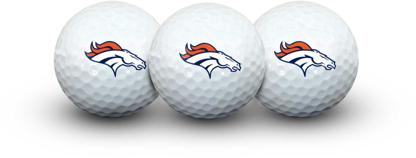 Team Effort Denver Broncos Golf Balls - 3 Pack