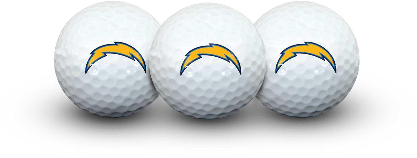 Team Effort Los Angeles Chargers Golf Balls - 3 Pack