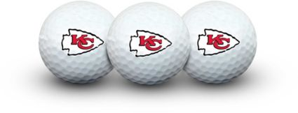 Team Effort Kansas City Chiefs Golf Balls - 3 Pack