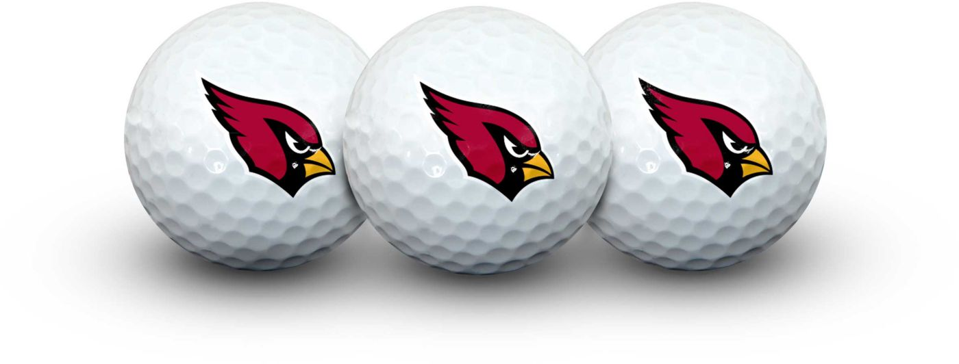 Team Effort Arizona Cardinals Golf Balls - 3 Pack