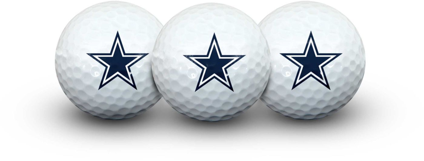 Team Effort Dallas Cowboys Golf Balls - 3 Pack