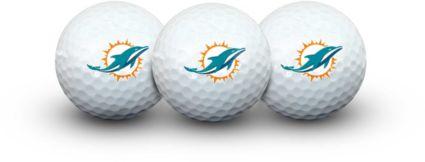 Team Effort Miami Dolphins Golf Balls - 3 Pack