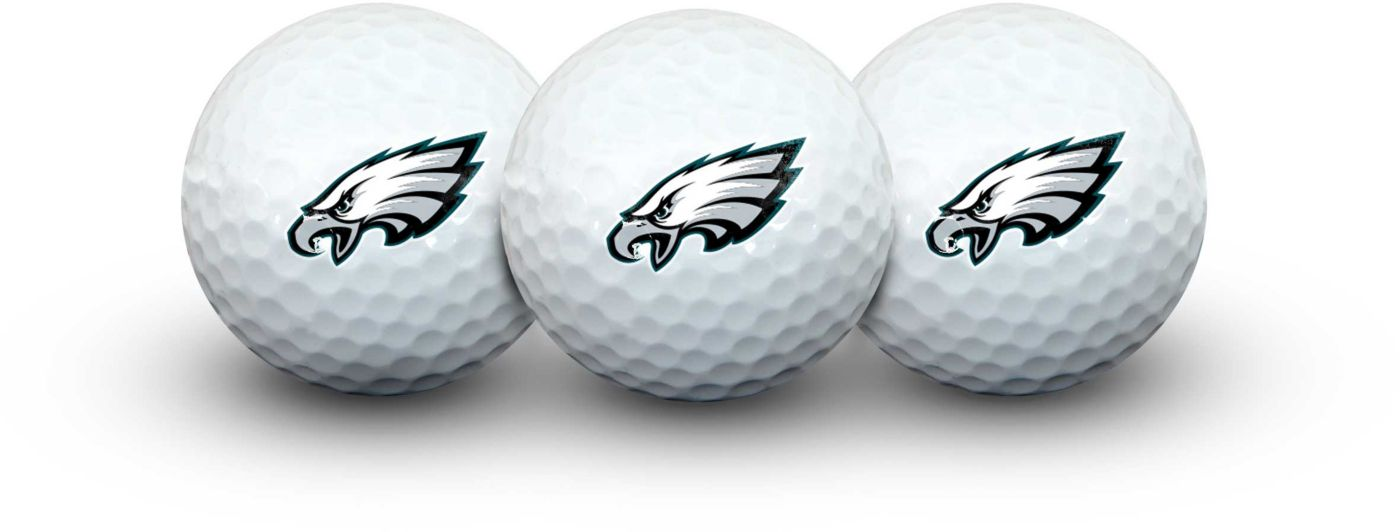 Team Effort Philadelphia Eagles Golf Balls - 3 Pack
