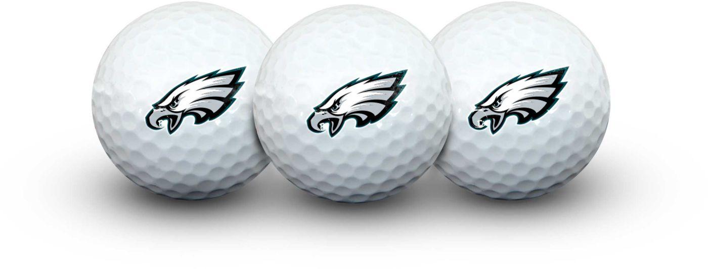 Team Effort Philadelphia Eagles Golf Balls - 3 Pack