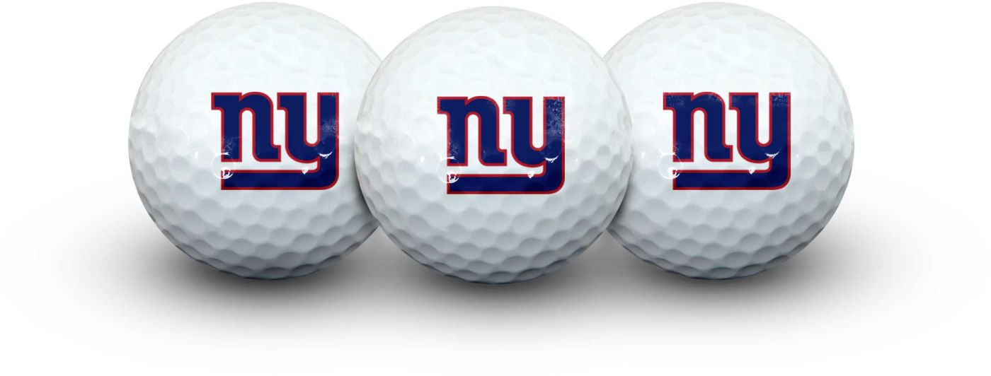 Team Effort New York Giants Golf Balls - 3 Pack