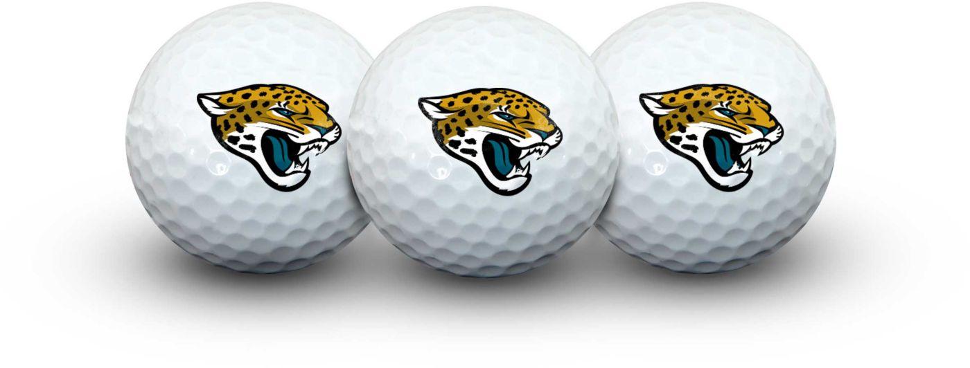 Team Effort Jacksonville Jaguars Golf Balls - 3 Pack