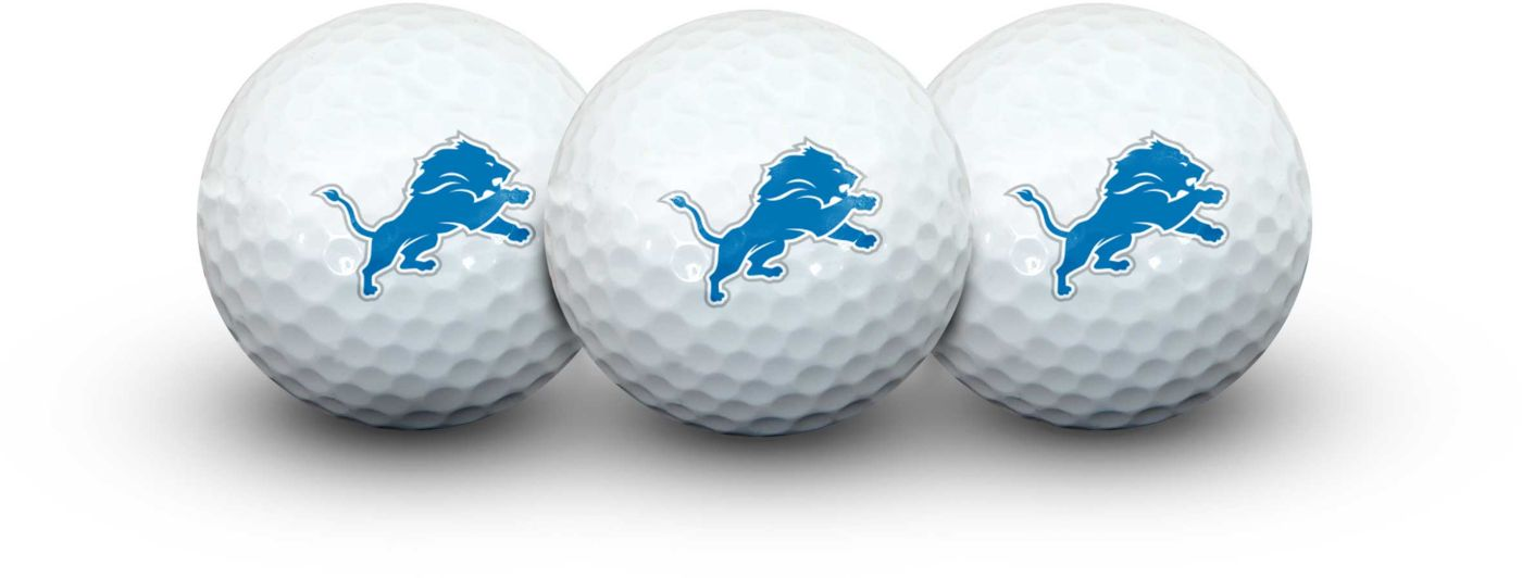Team Effort Detroit Lions Golf Balls - 3 Pack