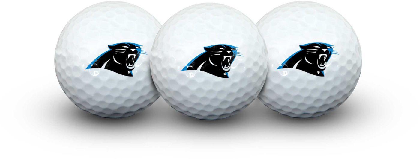 Team Effort Carolina Panthers Golf Balls - 3 Pack
