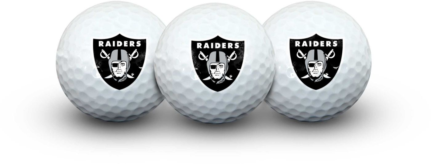 Team Effort Oakland Raiders Golf Balls - 3 Pack