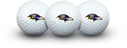 Team Effort Baltimore Ravens Golf Balls - 3 Pack