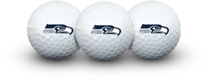 Team Effort Seattle Seahawks Golf Balls - 3 Pack