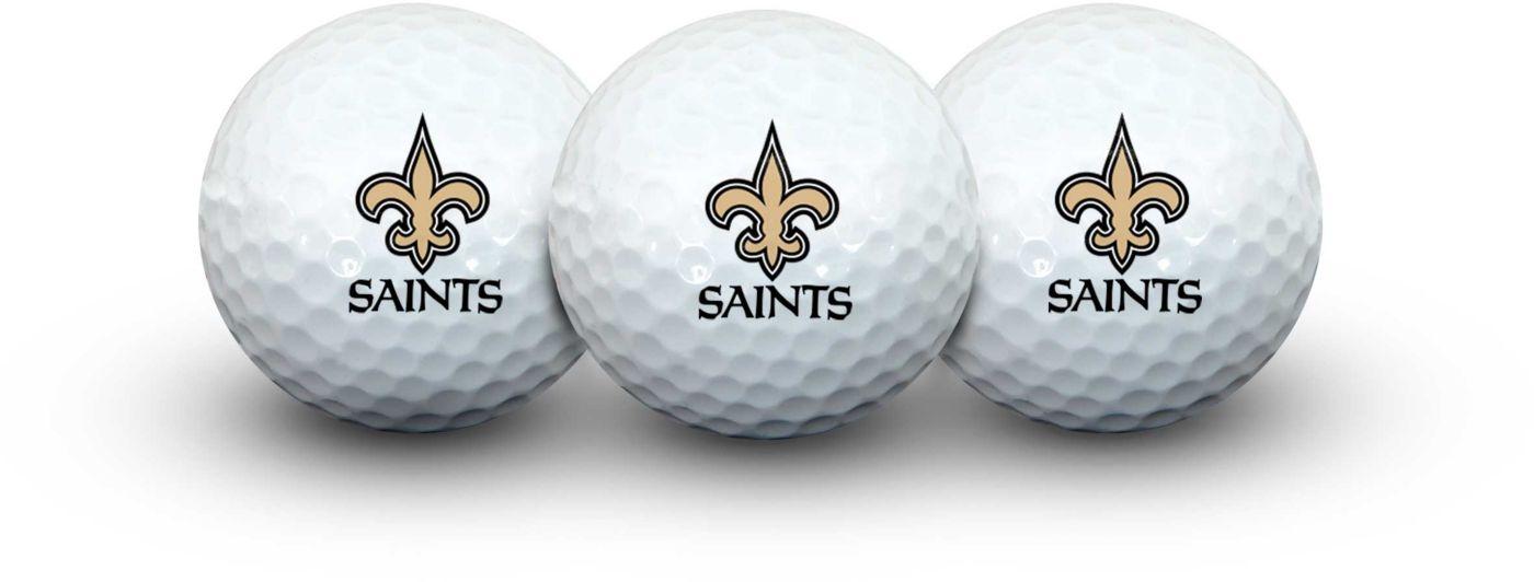 Team Effort New Orleans Saints Golf Balls - 3 Pack