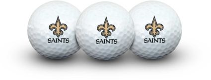 Team Effort New Orleans Saints Golf Balls - 3 Pack