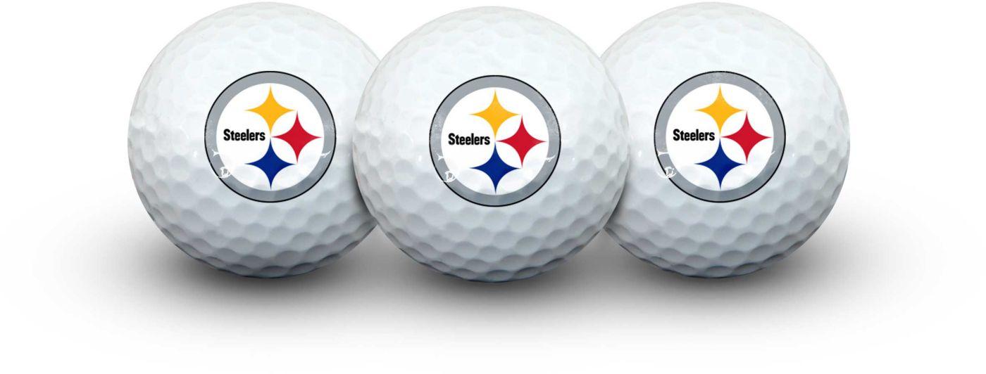 Team Effort Pittsburgh Steelers Golf Balls - 3 Pack