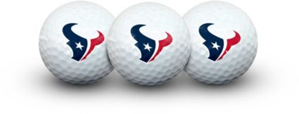 Team Effort Houston Texans Golf Balls - 3 Pack