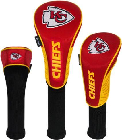 Team Effort Kansas City Chiefs Headcovers - 3 Pack
