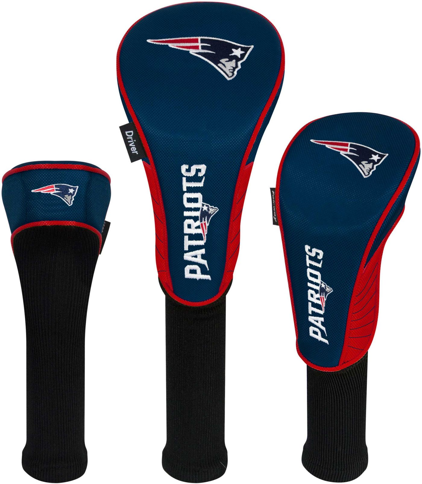 Team Effort New England Patriots Headcovers - 3 Pack