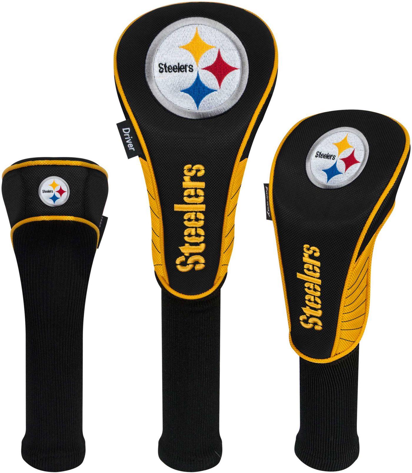 Team Effort Pittsburgh Steelers Headcovers - 3 Pack