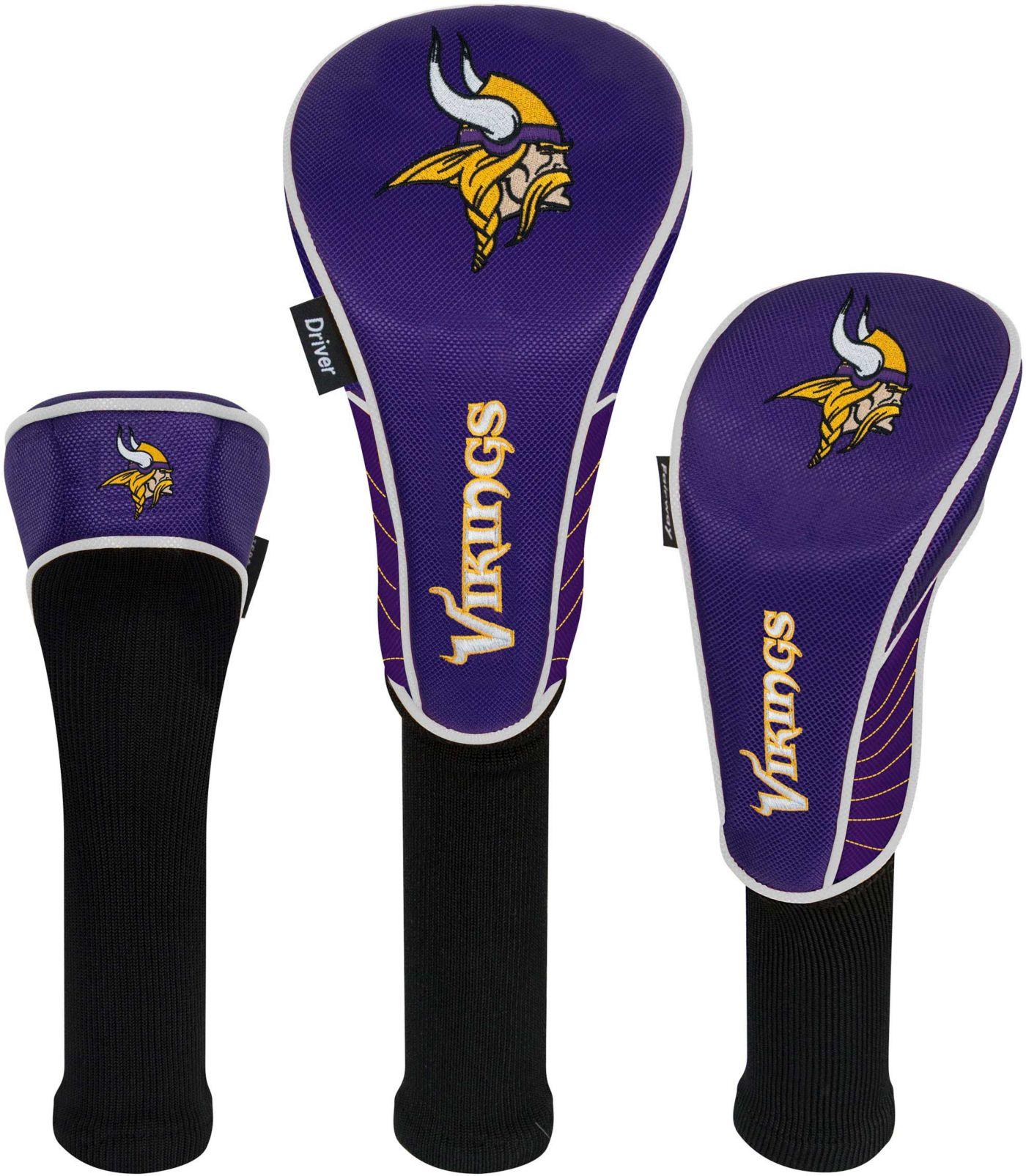 Team Effort Minnesota Vikings Headcovers - 3 Pack