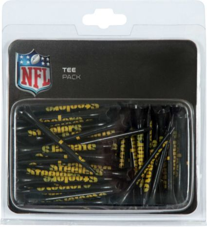 "Team Effort Pittsburgh Steelers 2.75"" Golf Tees - 40 Pack"