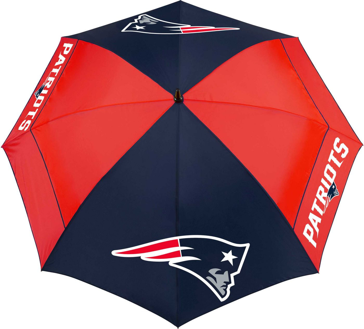 "Team Effort New England Patriots 62"" Windsheer Lite Golf Umbrella"
