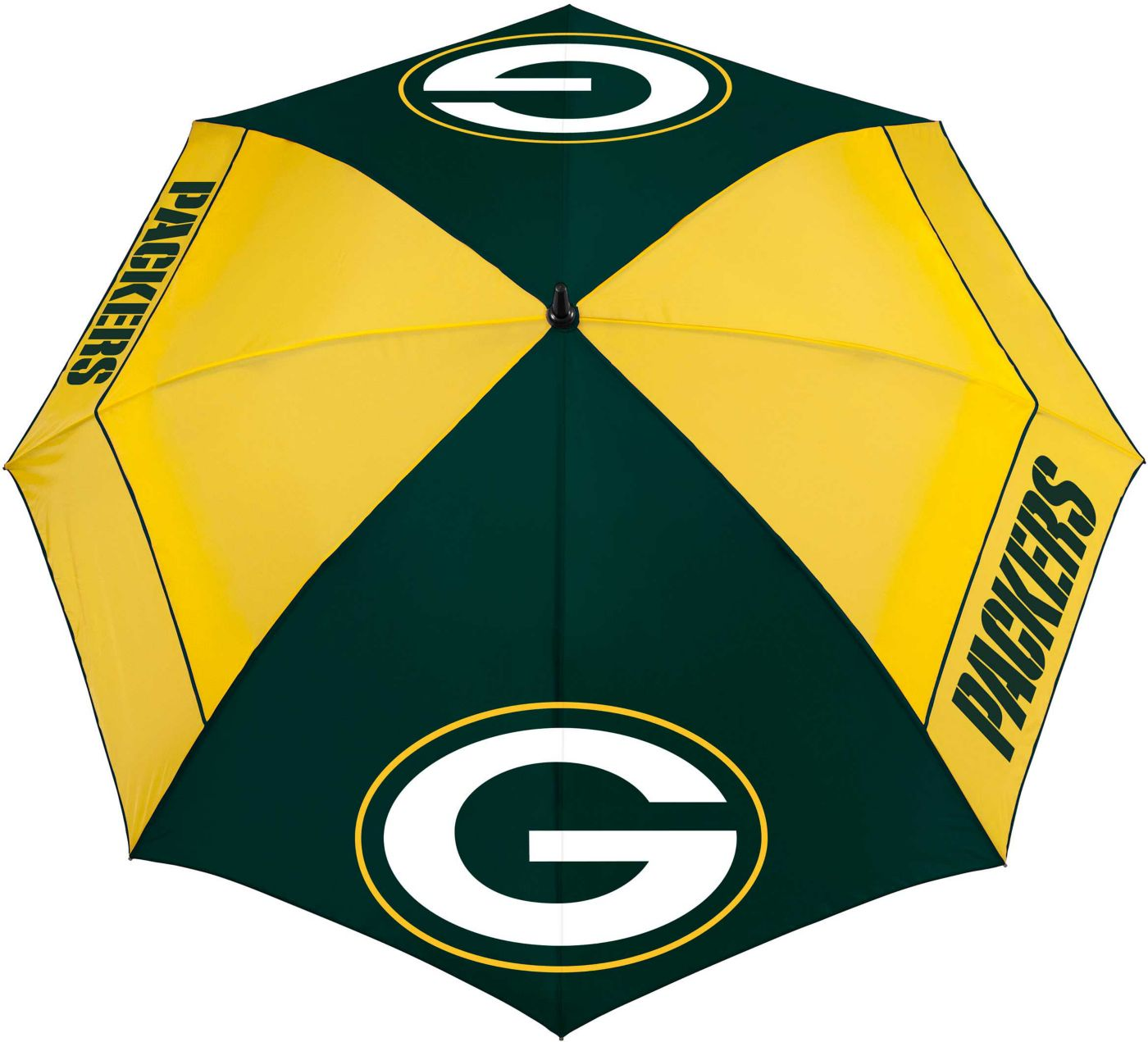 "Team Effort Green Bay Packers 62"" Windsheer Lite Golf Umbrella"