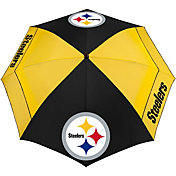 "Team Effort Pittsburgh Steelers 62"" Windsheer Lite Golf Umbrella"