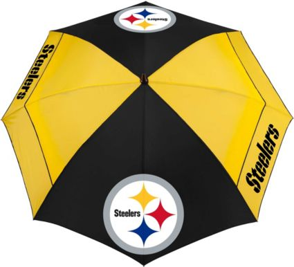 "Team Effort Pittsburgh Steelers 62"" Windsheer Lite Golf Umbrella"